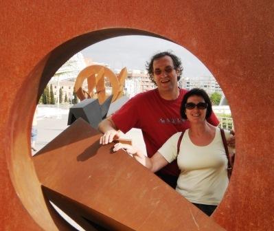In Valencia. Foto: Manfred Dipolt, 2011